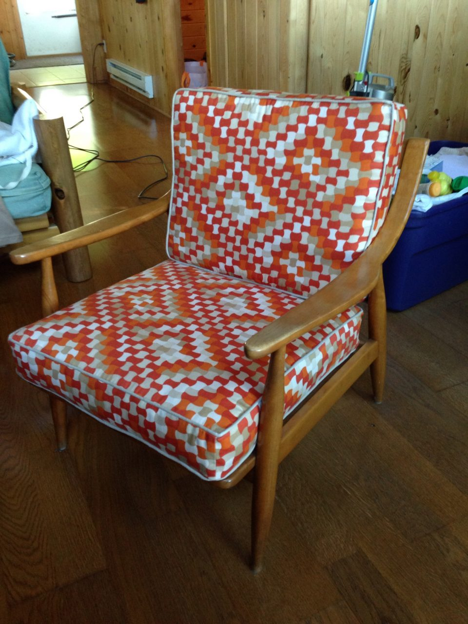 Retro chair makeover.